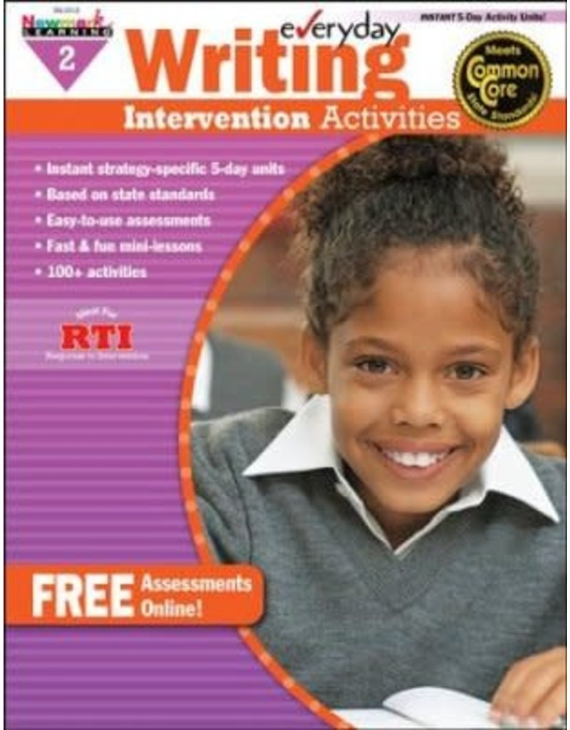 *Everyday Writing Intervention Activities Grade 2