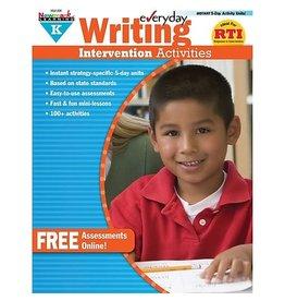 *Everyday Writing Intervention Activities Grade K