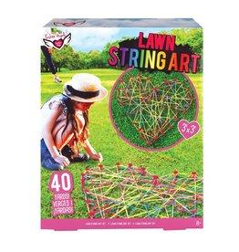 *Lawn String Art