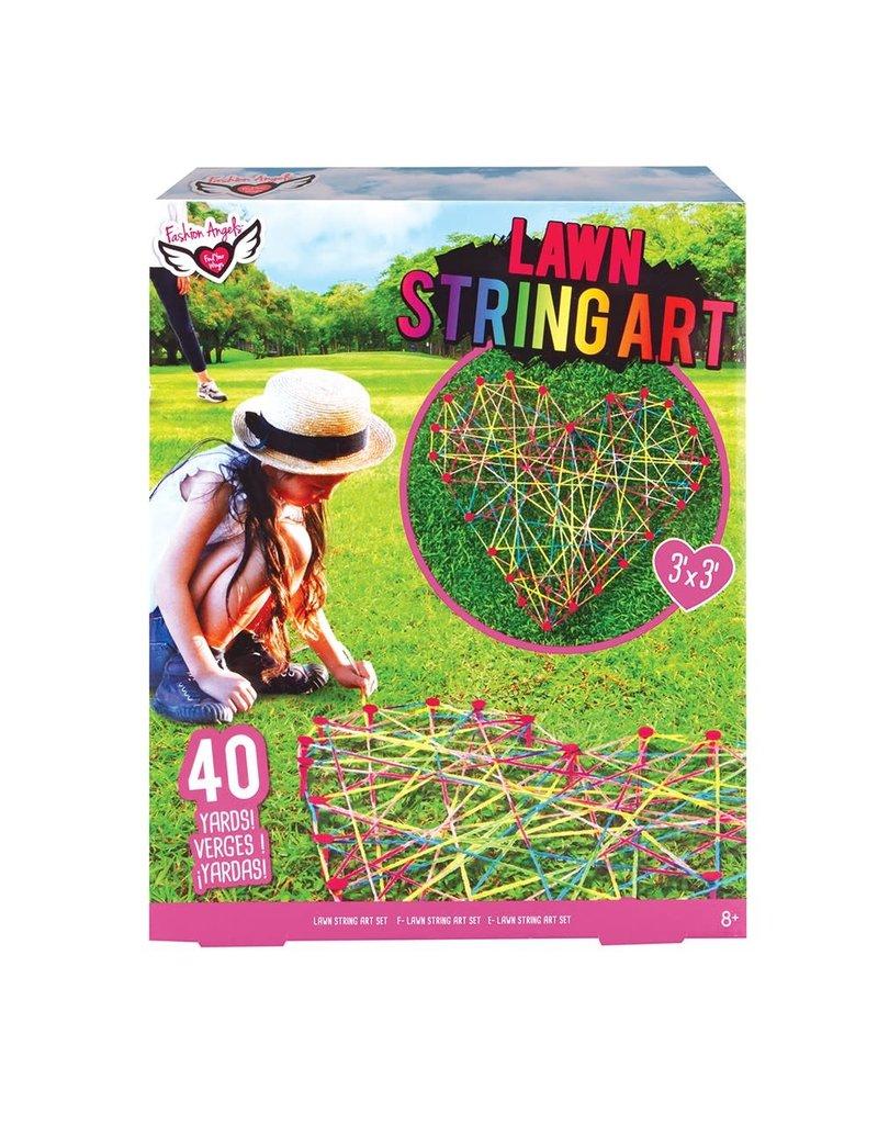 Lawn String Art