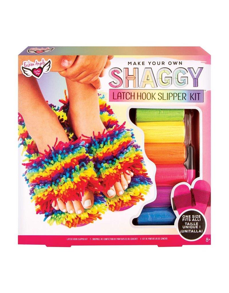 Latch Hook Slipper Kit - (one size fits all)