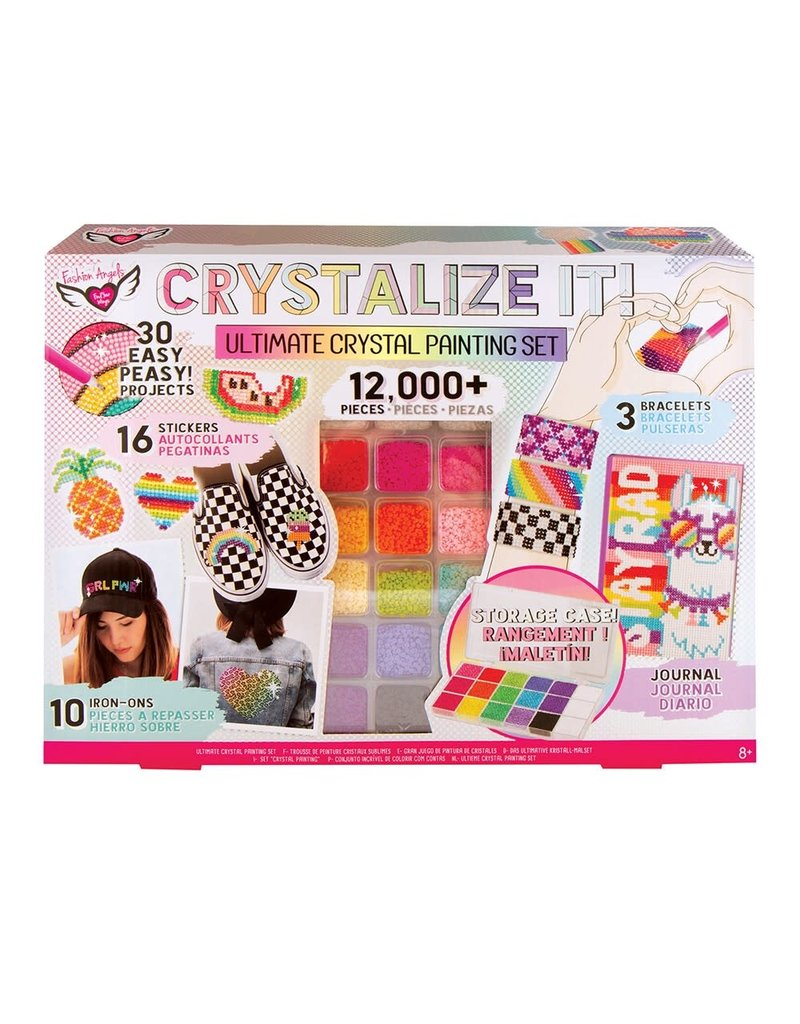 CRYSTALIZE IT! Crystal Painting Set