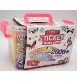 *Jam Packed Sticker Crate