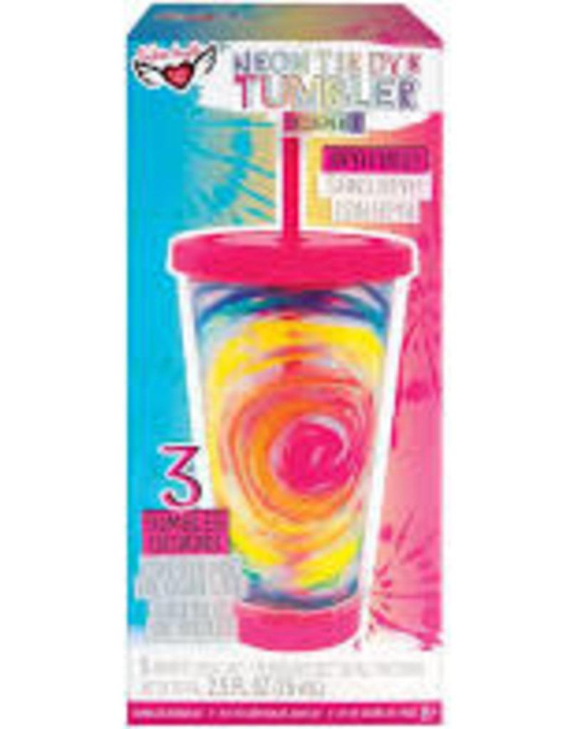 Neon  Tie Dye Tumbler Design Kit