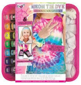 Neon Tie Dye Fashion Design Super Set