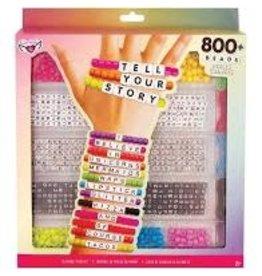 Alphabet Bead Case Large Neon Mix & Match