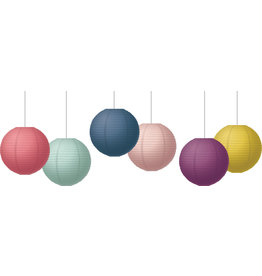 """Oh Happy Day 8"""" Hanging Paper Lanterns"""