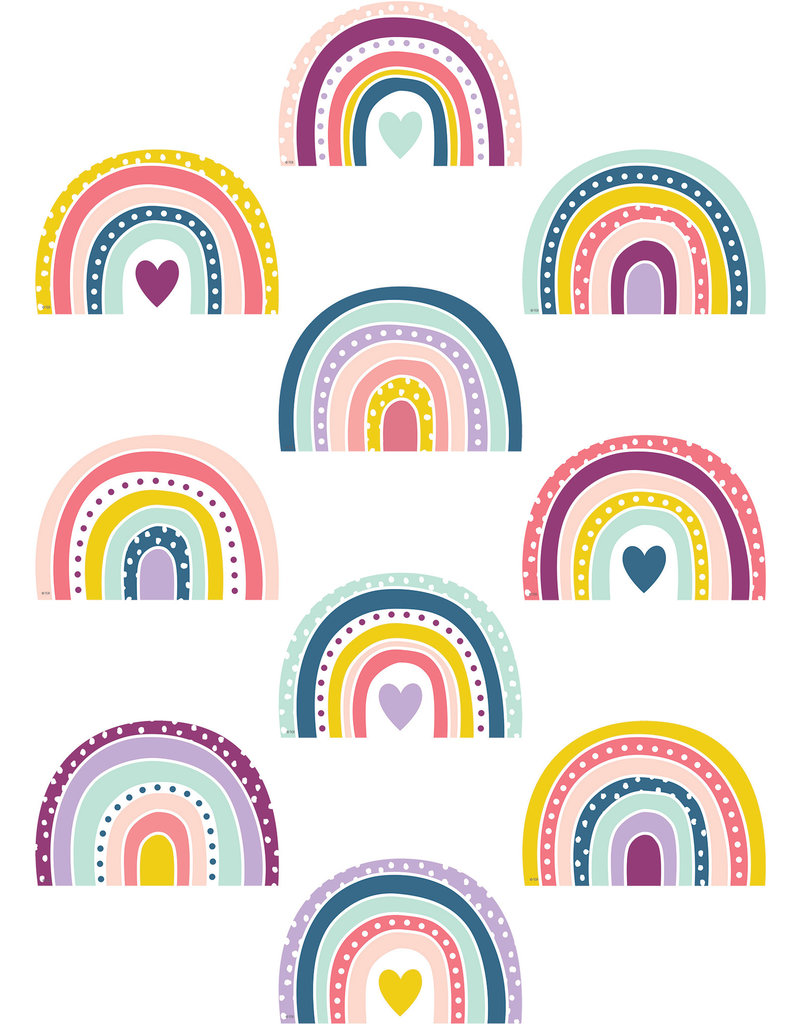 Oh Happy Day Rainbow Accents