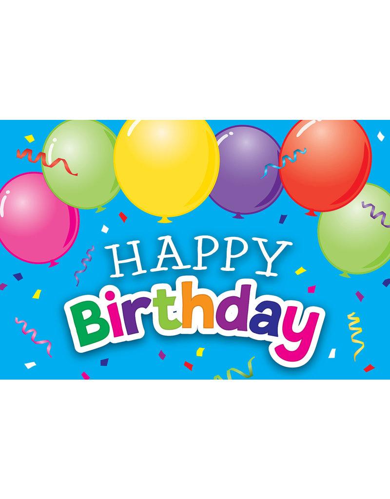 Happy Birthday Balloons Postcards