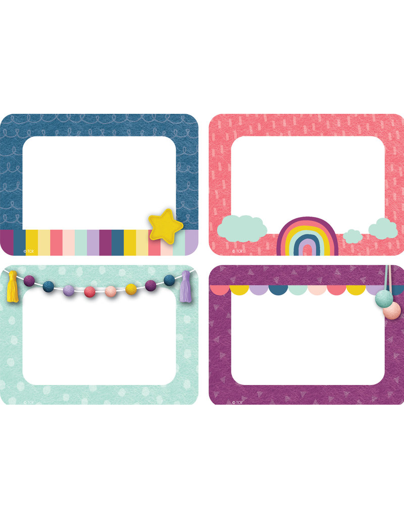 Oh Happy Day Name Tags/labels Mulit-Pack