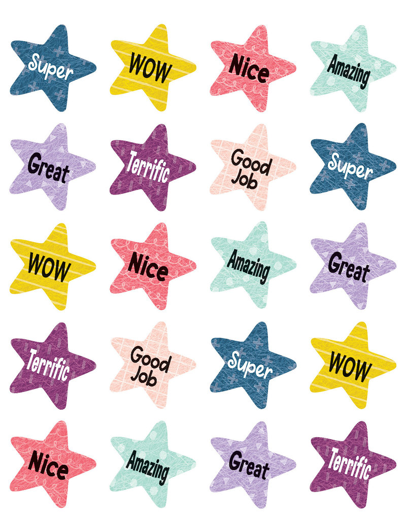 Oh Happy Day Star Rewards Stickers