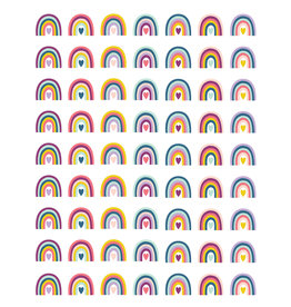 Oh Happy Day Rainbow Mini Stickers
