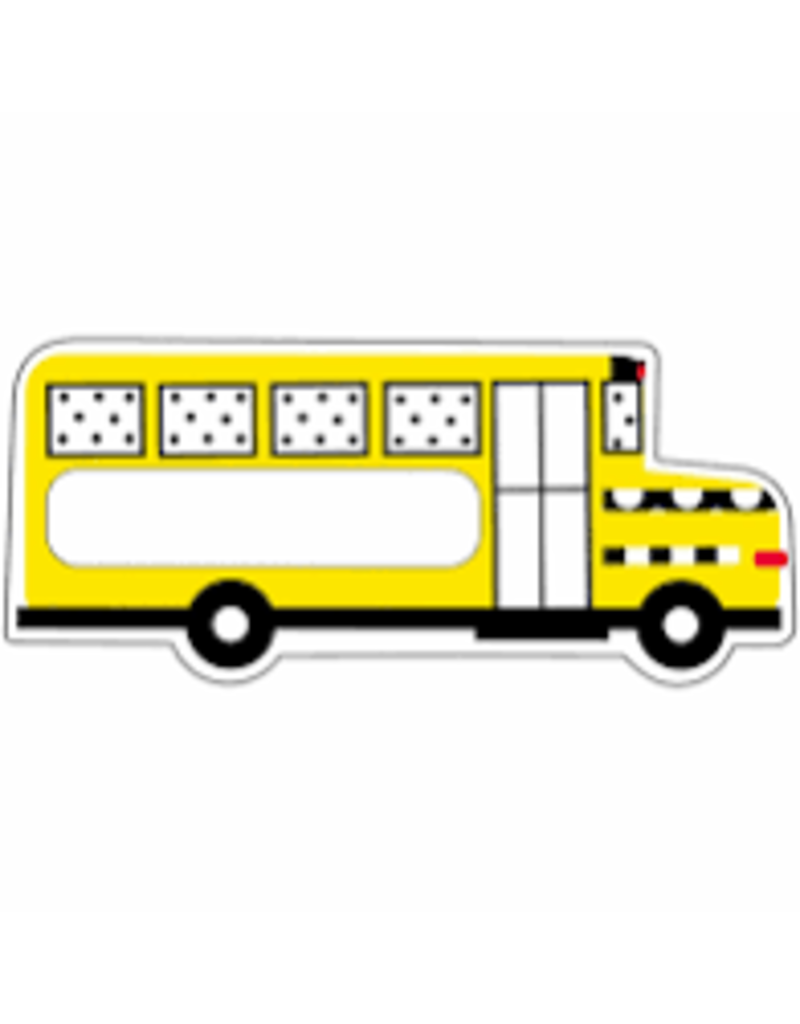 Black White & Stylish Brights School Bus Accents