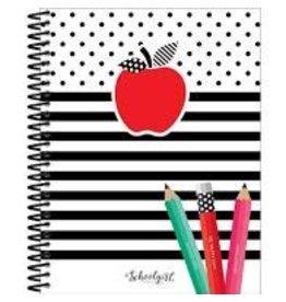Black White & Stylish Brights Teacher Planner