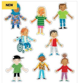 All Are Welcome Color Cut-Outs