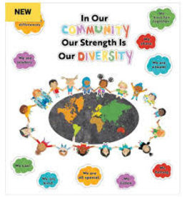 All Are Welcome Our Strength is Our Diversity Bulletin Board
