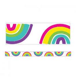 Kind Vibes Rainbow Straight Border