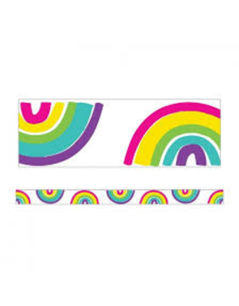 Kind Vibes Rainbow Straight Border