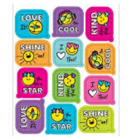 Kind Vibes Smiley Faces Stickers