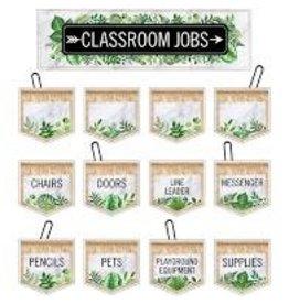 Simply Boho Classroom Jobs Mini Bulletin Board Set