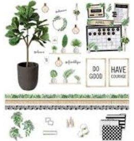 Simply Boho Plant Bulletin Board Set