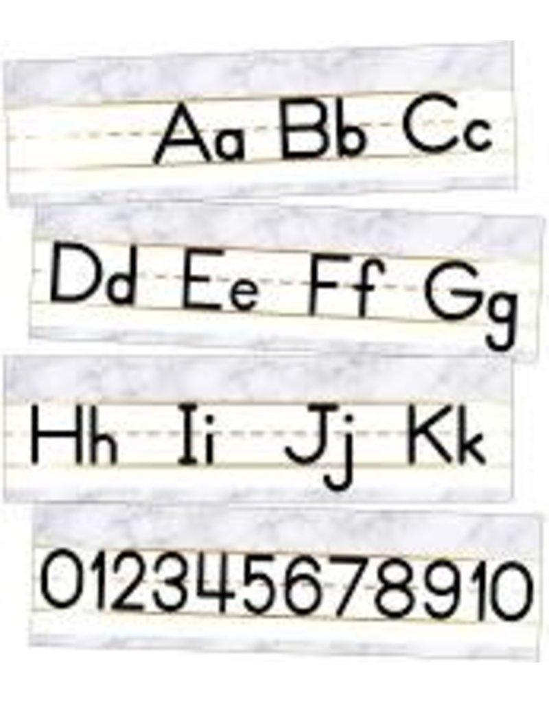 Simply Boho Alphabet Mini Bulletin Board