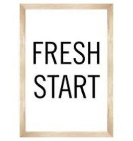 Simply Boho Fresh Start Poster