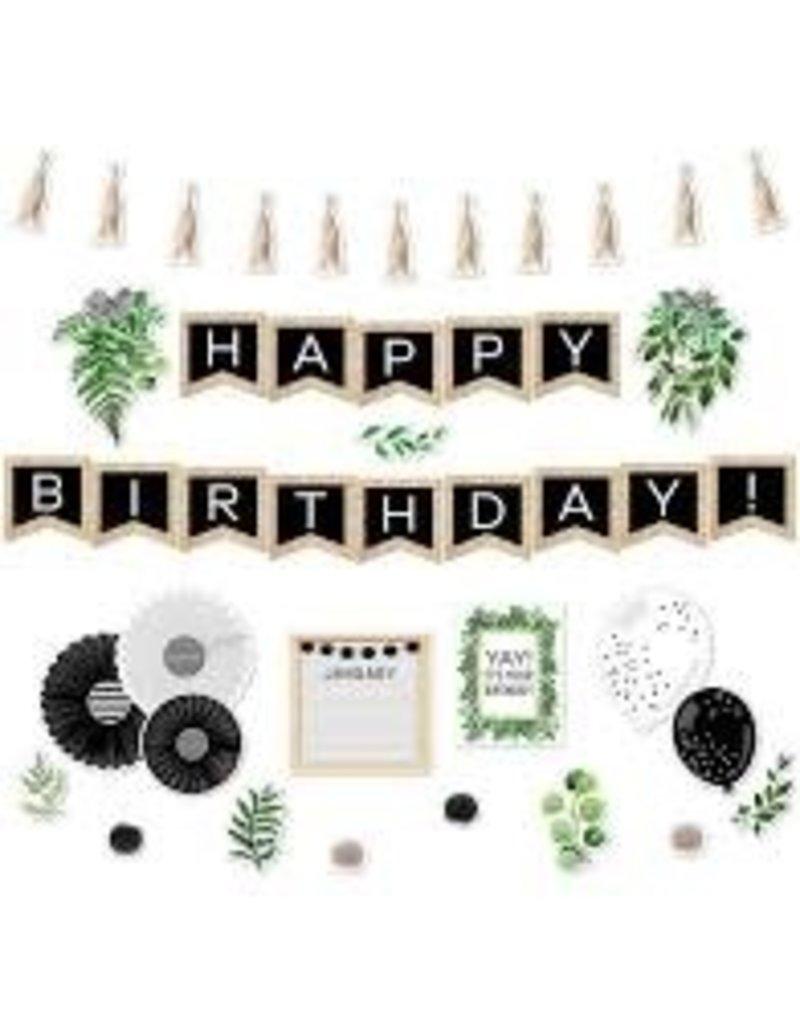 Simply Boho Happy Birthday Bulletin Board