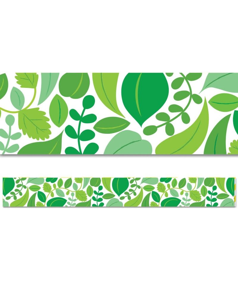 Positively Plants Leaf Foliage Border