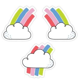 "Rainbow Doodles Rainbow Skies 3"" Accents"