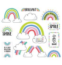 Rainbow Doodles Doodly Rainbows Bulletin Board