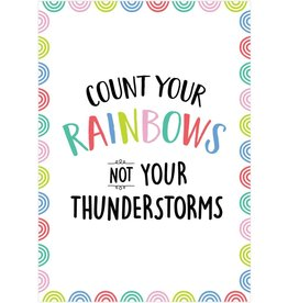 Rainbow Doodles Count Your Rainbows Poster