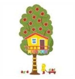 A Teachable Town Large Seasonal Tree House bulletin board