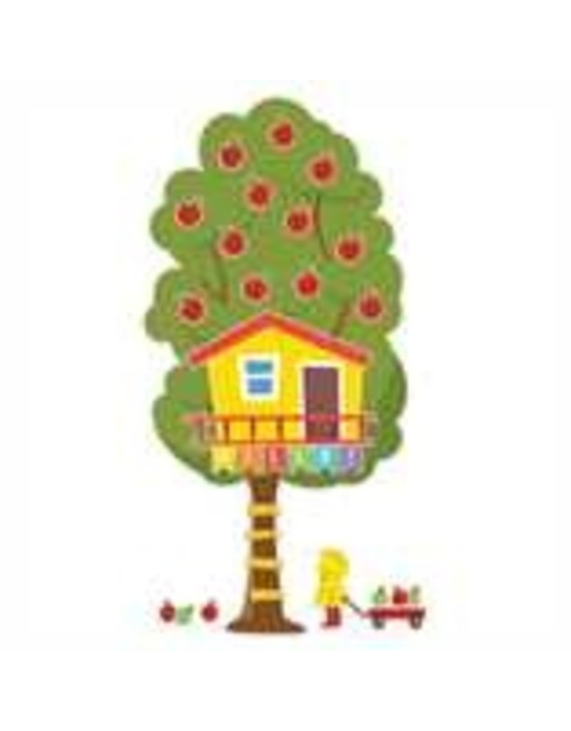 A Teachable Town Large Seasonal Tree House bulletin board