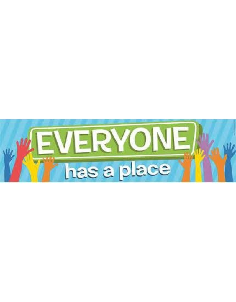 A Teachable Town Everyone Has A Place banner