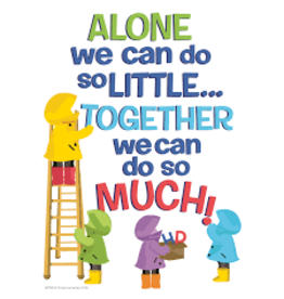 A Teachable Town Alone We Can Do So Little poster