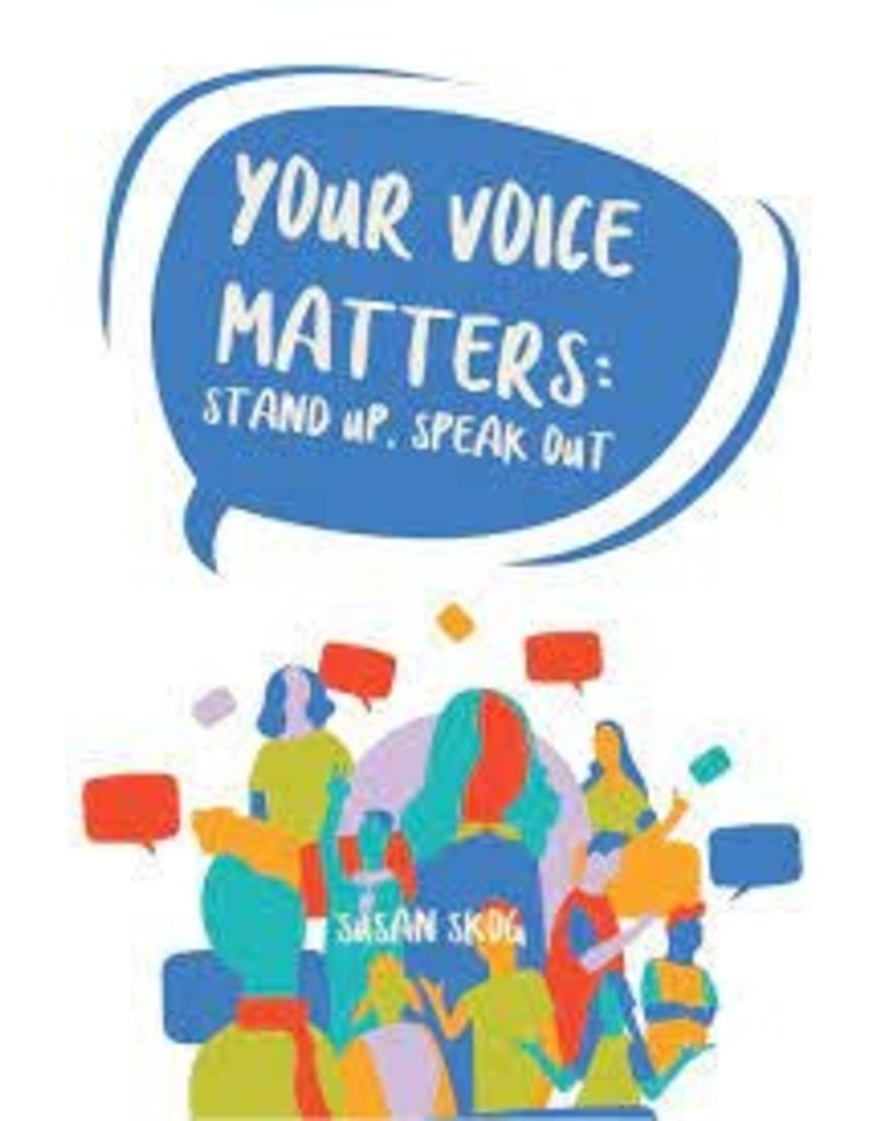 A Teachable Town Your Voice Matters Poster