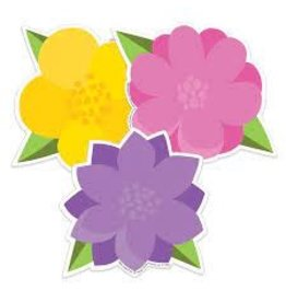 A Teachable Town Flowers cut outs