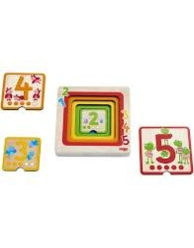 Counting Friends Wooden Puzzle