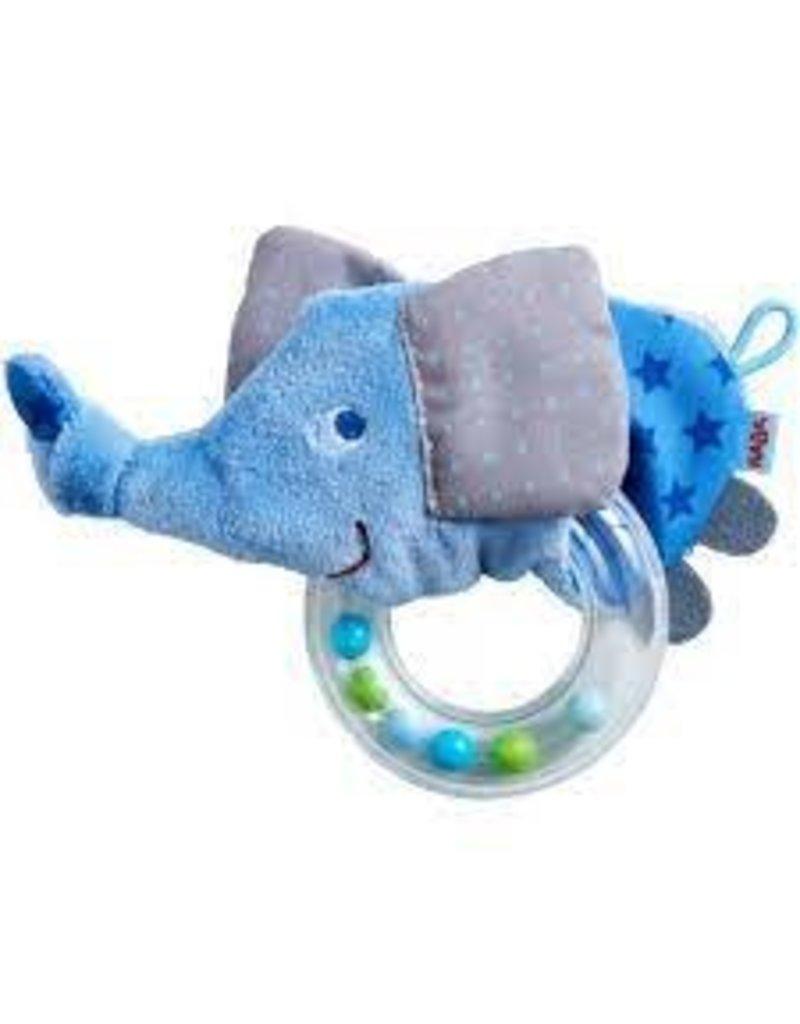 Elephant Fabric Clutch Toy