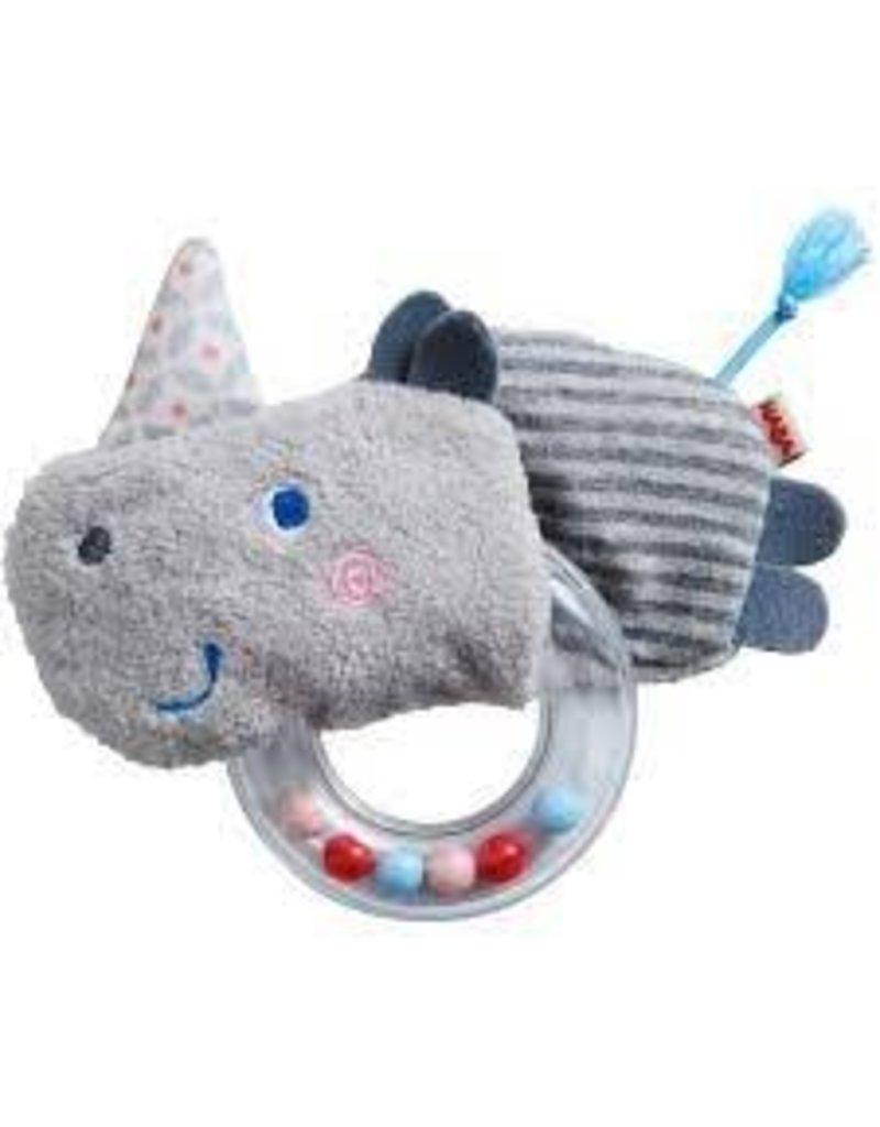 Rhino Fabric Clutch Toy