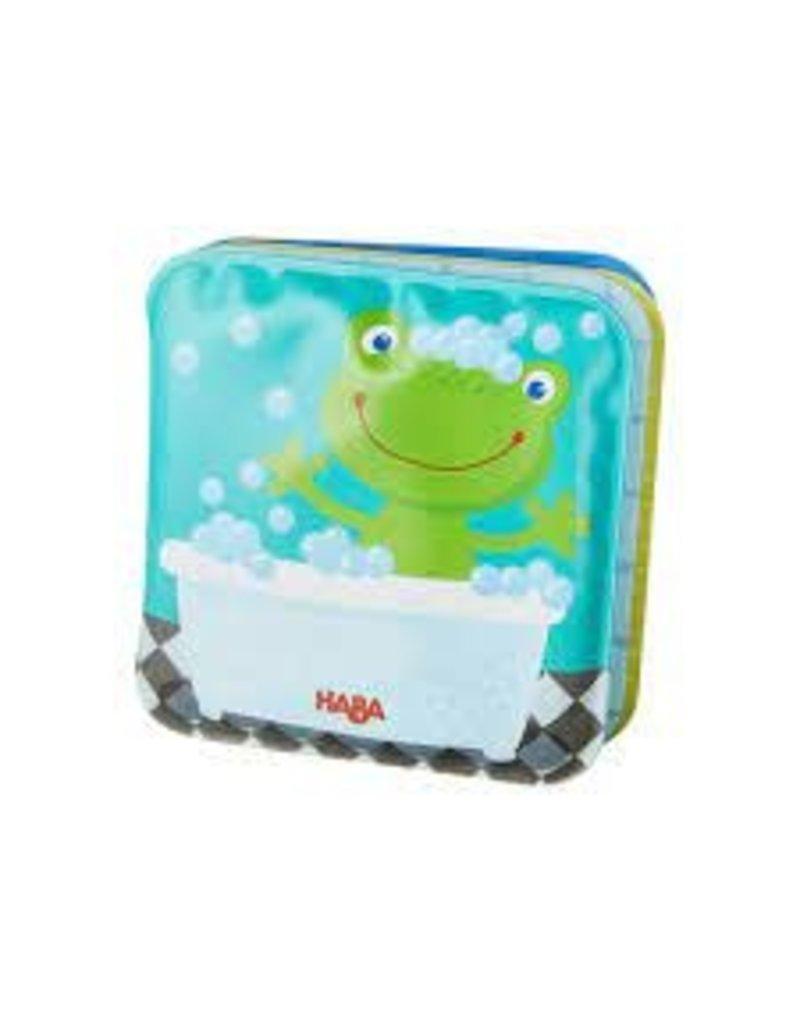 Mini Fritz the Frog Bath Book - Rattle