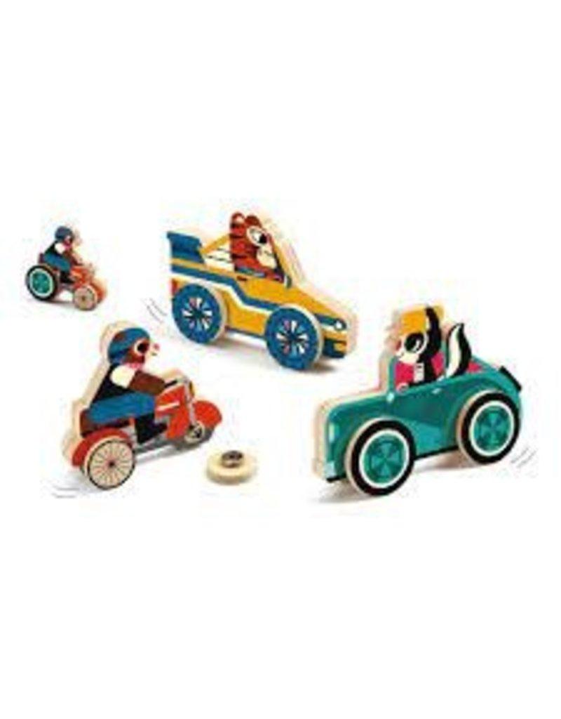 Clipacar Snapping Wheels Skill Boards