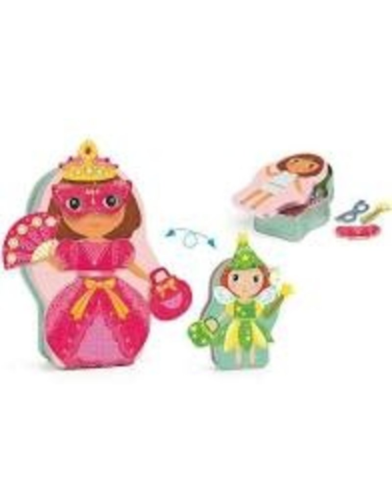Jobissimo Magnetic Dress Up Activity Toy