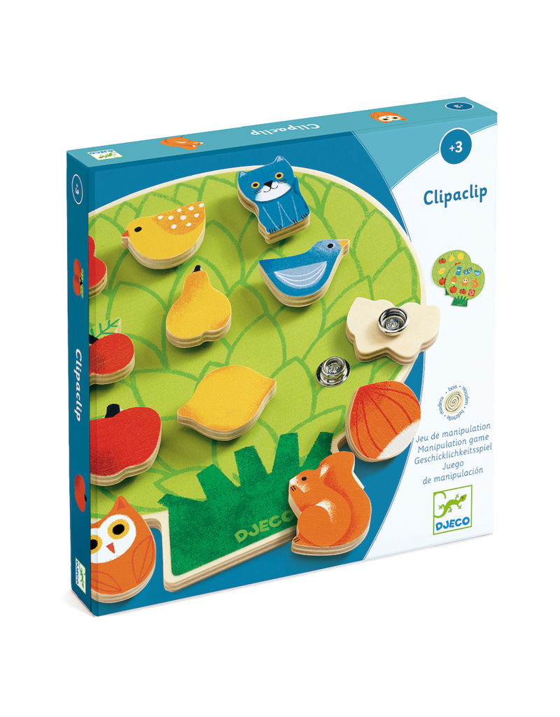 Clipaclip Snapping/Sequencing Wooden Skill Boards