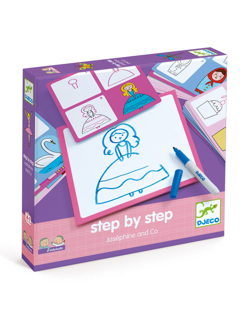 Josephine & Co Learn to Draw Step by Step