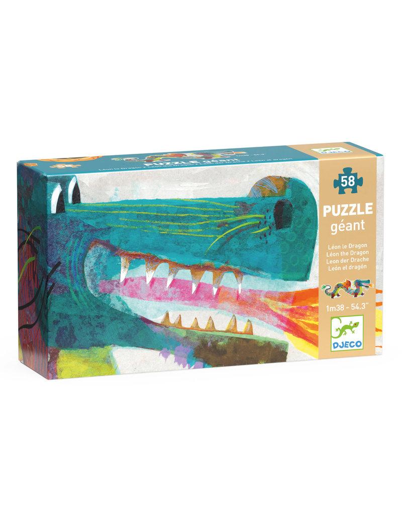 Leon The Dragon 58pc Giant Floor Jigsaw Puzzle