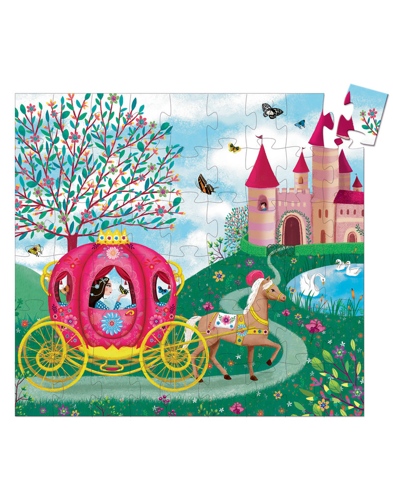 Elise's Carriage 54pc Jigsaw Puzzle