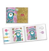 Dazzling Birds Colored Sand and Glitter Craft Kit
