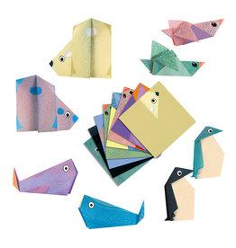 Polar Animals Origami Paper Craft Kit